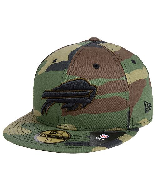 the best attitude eff03 61c5a ... New Era Buffalo Bills Woodland Prism Pack 59FIFTY-FITTED Cap ...