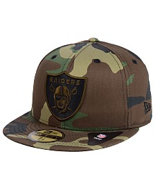 New Era Oakland Raiders Woodland Prism Pack 59FIFTY-FITTED Cap