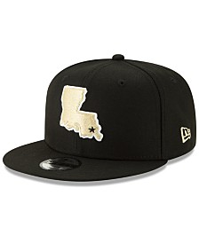 New Era Boys' New Orleans Saints Logo Elements Collection 9FIFTY Snapback Cap