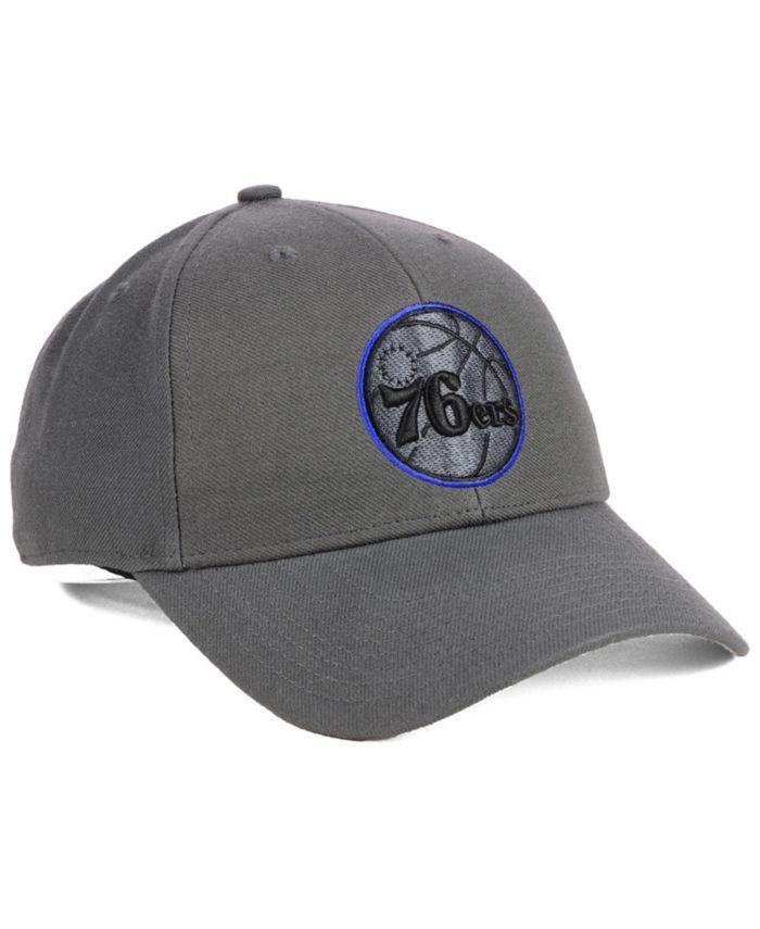 '47 Brand Philadelphia 76ers Charcoal Pop MVP Cap & Reviews - Sports Fan Shop By Lids - Men - Macy's