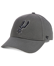 '47 Brand San Antonio Spurs Charcoal Pop MVP Cap
