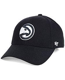 '47 Brand Atlanta Hawks Black White MVP Cap