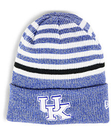 New Era Kentucky Wildcats Striped Chill Knit Hat