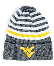 New Era West Virginia Mountaineers Striped Chill Knit Hat