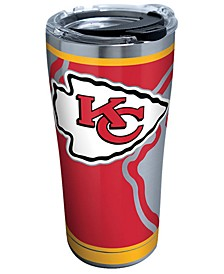Kansas City Chiefs 20oz Rush Stainless Steel Tumbler