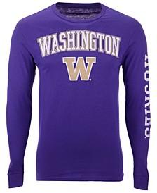 Men's Washington Huskies Midsize Slogan Long Sleeve T-Shirt