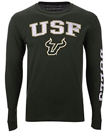 Men's South Florida Bulls Midsize Slogan Long Sleeve T-Shirt
