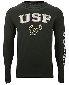 Colosseum Men's South Florida Bulls Midsize Slogan Long Sleeve T-Shirt
