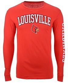 Men's Louisville Cardinals Midsize Slogan Long Sleeve T-Shirt