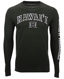 Colosseum Men's Hawaii Warriors Midsize Slogan Long Sleeve T-Shirt