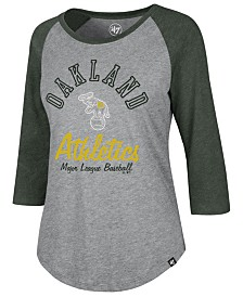 '47 Brand Women's Oakland Athletics Imprint Splitter Raglan T-Shirt