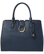 42a8a658319 Lauren Ralph Lauren Large Kenton Leather Tote, Created for Macys.  Quickview. 4 colors
