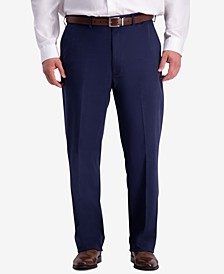 Men's Big & Tall W2W PRO Relaxed-Fit Performance Stretch Non-Iron Flat-Front Casual Pants