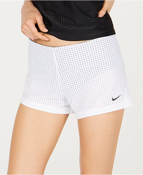 54ac382956 Nike Sport Mesh Swim Shorts & Reviews - Swimwear - Women - Macy's