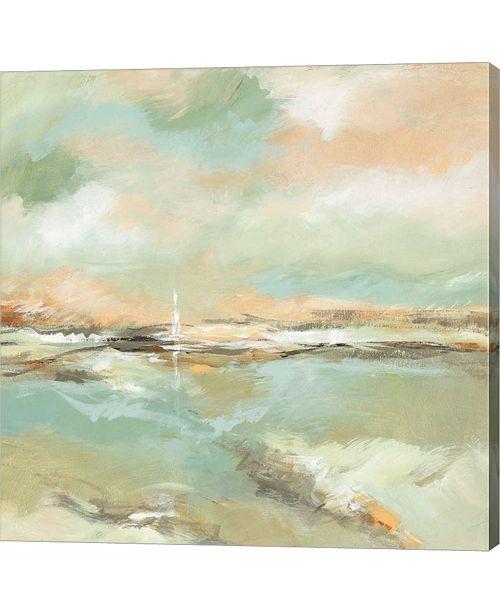 Metaverse Waterline I by Michael Brey Canvas Art