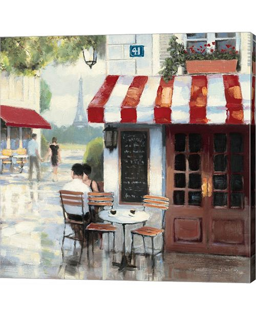 Metaverse Relaxing At The Cafe II by James Wiens Canvas Art