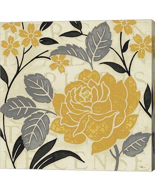Metaverse Perfect Petals II Yellow by Pela Studio Canvas Art