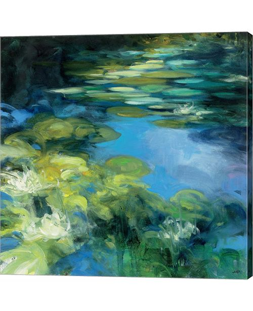 Metaverse Water Lilies II by Julia Purinton Canvas Art