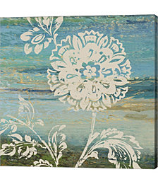Blue indigo With Lace II by Studio Nova Canvas Art