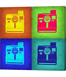 Vintage Polaroid Camera Pop Art 1 by Naxart Canvas Art