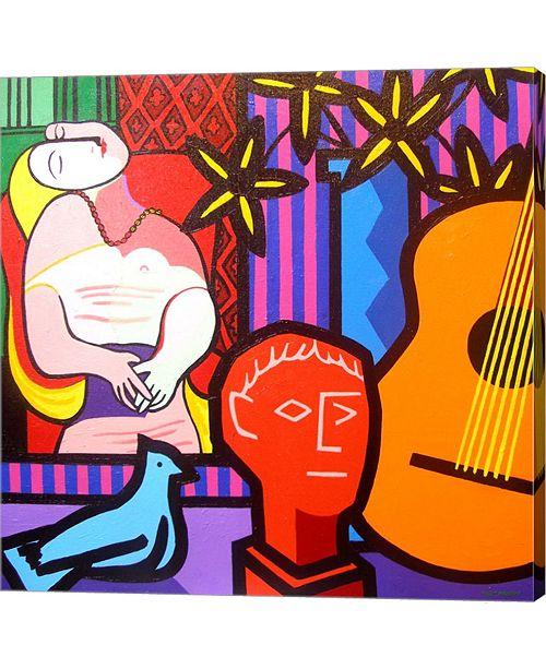 Metaverse Still Life With Picassos Dream by John Nolan Canvas Art