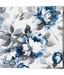 Scent of Roses indigo II by Wild Apple Portfolio Canvas Art