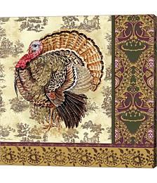 Tom Turkey II by Jean Plout Canvas Art