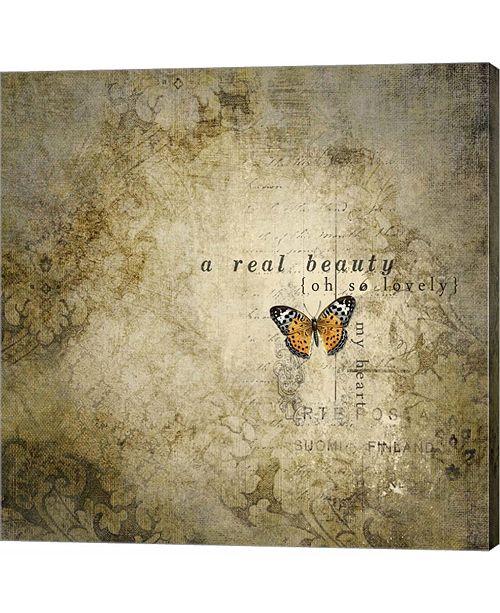 Metaverse Real Beauty Butterfly by Marcee Duggar Canvas Art