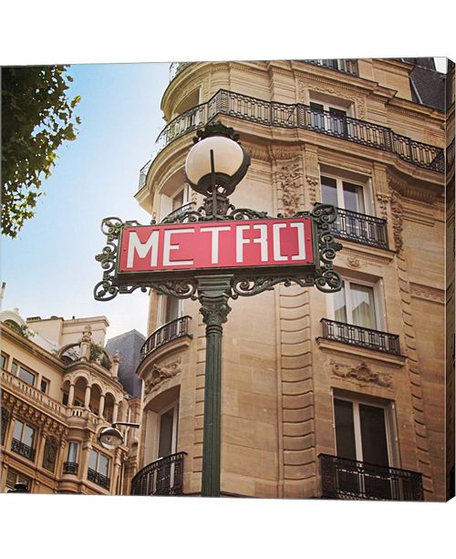Metaverse Paris Moments VII by Laura Marshall Canvas Art