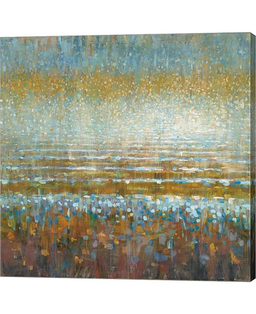 Metaverse Rains Over The Lake by Danhui Nai Canvas Art