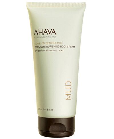 Ahava Dermud Nourishing Body Cream, 6.8 oz
