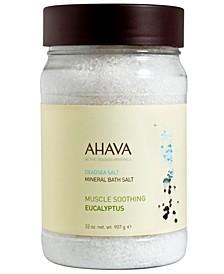 Mineral Bath Salt Eucalyptus, 32 oz