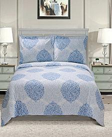 Superior 300 Thread Count Cotton Maywood Sheet Set - King
