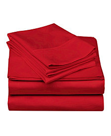 Superior 600 Thread Count Cotton Blend Solid Sheet Set - Split King
