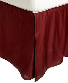 Superior 300 Thread Count Egyptian Cotton Solid Bed Skirt - Twin