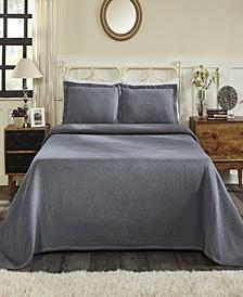 Basket Queen Bedspread