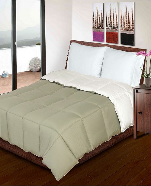 Superior Twin/Twin XL All Season Down Alternative Reversible Comforter