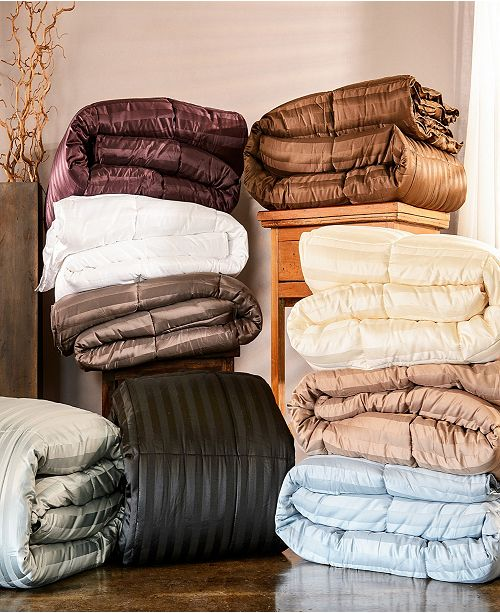 Superior All-Season Twin Down Alternative Reversible Blanket