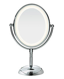 Conair Oval LED Lifetime Lighting Double-Sided Mirror