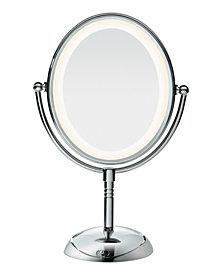 Conair Oval LED Lifetime Lighting Double-Sided Mirror