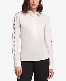 DKNY Embellished Shirt, Created for Macy's