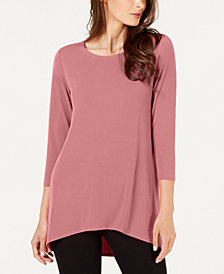 Alfani Petite High-Low Tunic, Created for Macy's