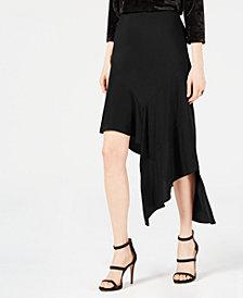 Bar III Asymmetrical Midi Skirt, Created for Macy's