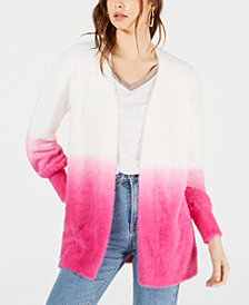 Bar III Ombré Open-Front Cardigan, Created for Macy's