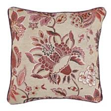 Croscill Lauryn Square Decorative Pillow