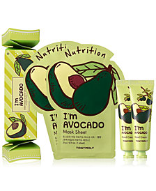 TONYMOLY 4-Pc. I'm Avocado Sheet Mask & Hand Cream Set