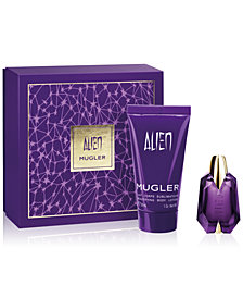 Choose your complimentary 2-Pc. box set with any $100 purchase from the Mugler fragrance collection