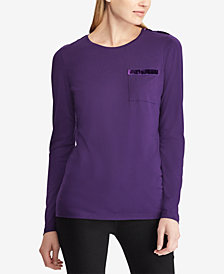 Lauren Ralph Lauren Pocket T-Shirt