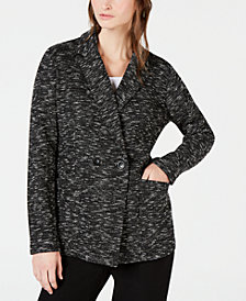 Eileen Fisher Classic Collar Blazer, Regular & Petite