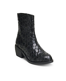 Wanted Dundee Snake Embossed Bootie
